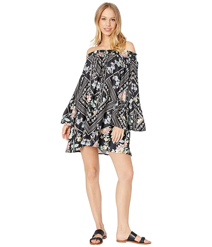 Nanette Lepore Diamond Vines Tunic Cover-Up (Multicolored) Women