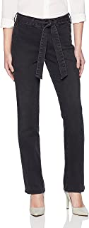 NYDJ Women's Petite Size Marilyn Straight with Trouser Detail