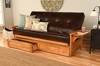 Kodiak Futons Phoenix Sofa bed, Full, Oregon Trail Java