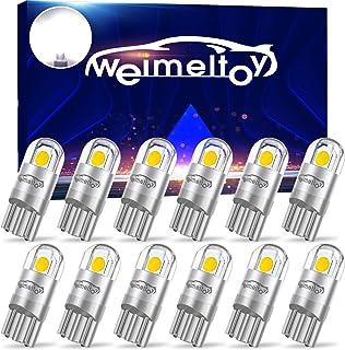 WEIMELTOY 194 Led Car Bulb 3030 Chipset 2SMD T10 194 168 W5W Led Wedge Light Bulb 1.5W..