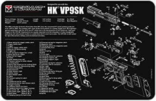 TekMat Gun Cleaning Mat for use with H&K VP9SK
