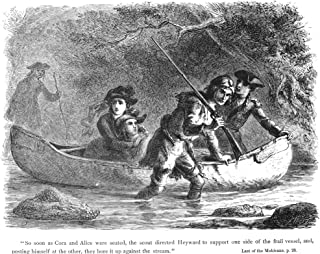 Last Of The Mohicans 1872 Nwood Engraving After Felix OC Darley From An 1872 Edition Of James Fenimore CooperS The Last Of...
