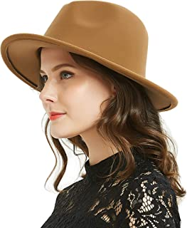 3c1562703bb14c Women Men Woolen/Straw Fedora Vintage Short Brim Crushable Jazz Hat