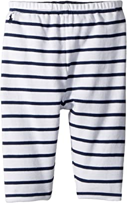 Ralph Lauren Baby - Reversible Cotton Pants (Infant)