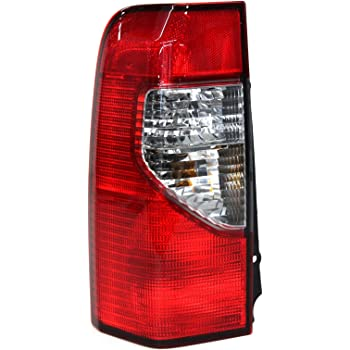 Genuine Nissan Parts 26555-ZB025 Driver Side Taillight Assembly