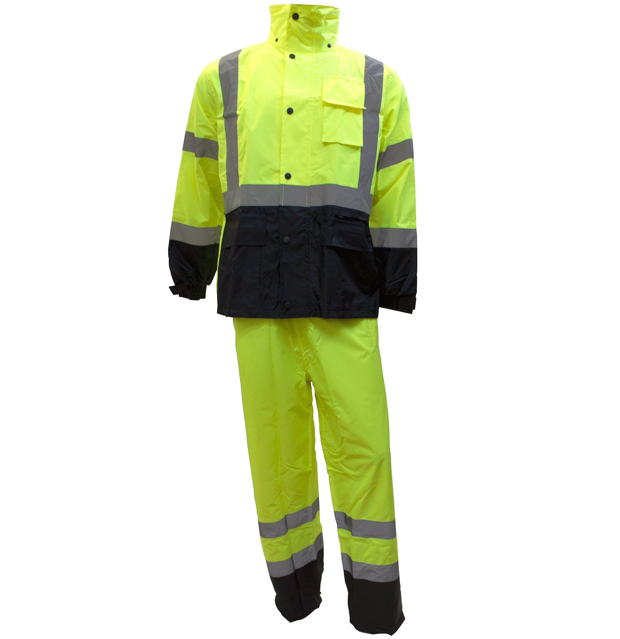 Safety Jacket Visibility Reflective RW CLA3 LM11