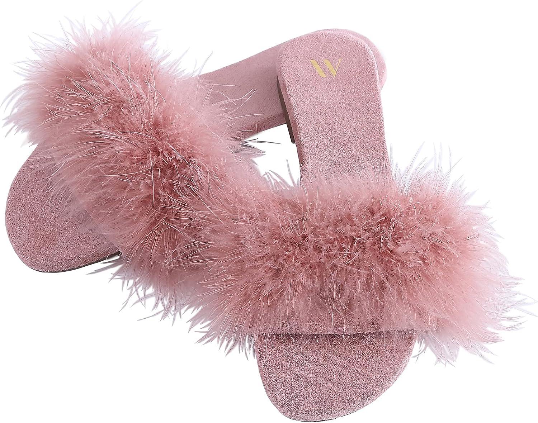 1960s – 1970s Lingerie & Nightgowns AmélieHomeWomensSexyFashionSlideSlippers-FurryTurkeyFeatherOpenToeComfyFuzzySuedeLinedHouseSandals  AT vintagedancer.com