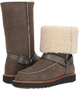 COACH - Moto Shearling Boot