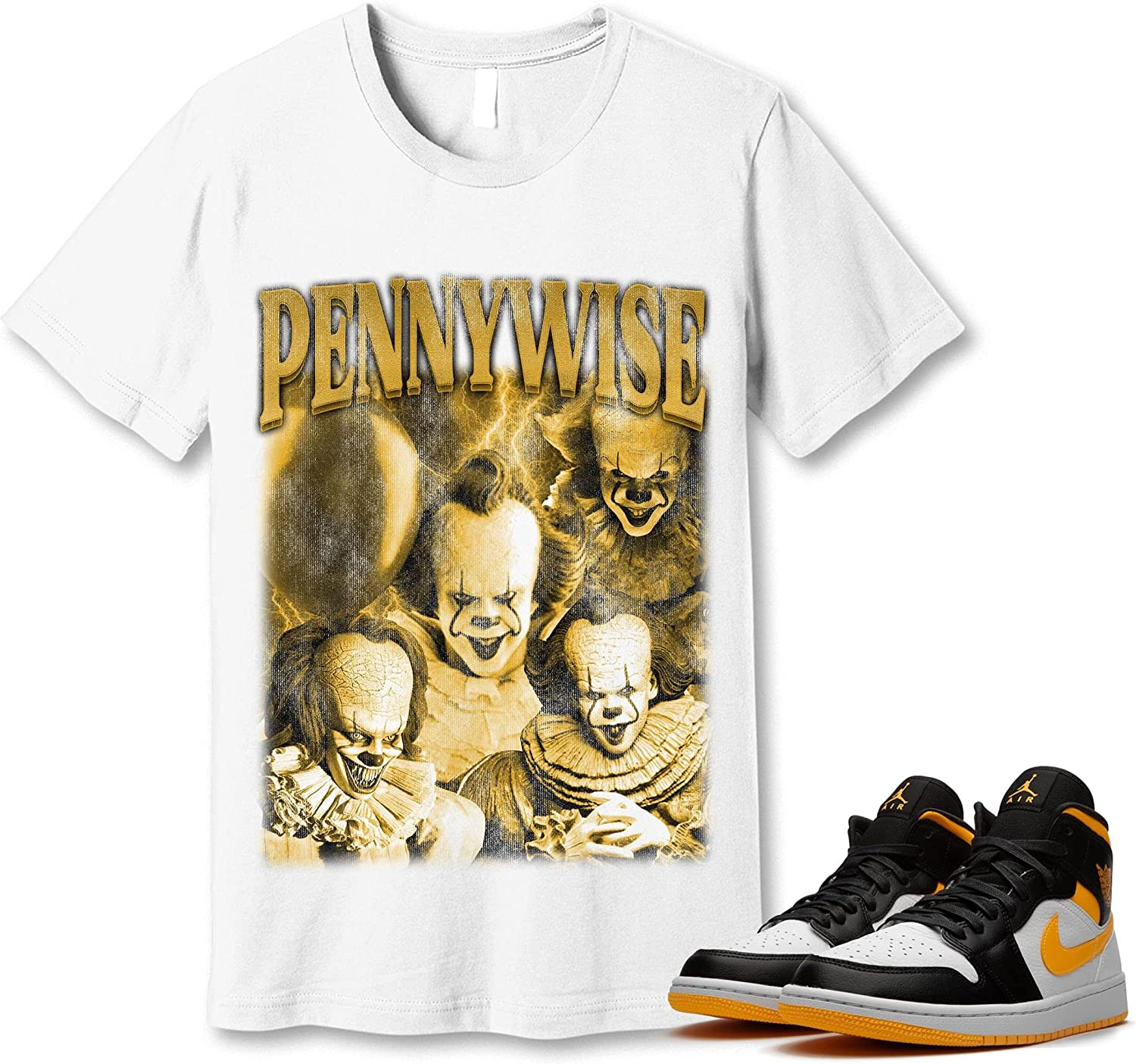 #Pennywise T-Shirt to Ranking TOP15 Match Jordan 1 Snkrs Laser Sneaker Orange New products, world's highest quality popular!