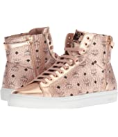 MCM - Men's High Top Turnlock Sneakers In Visetos