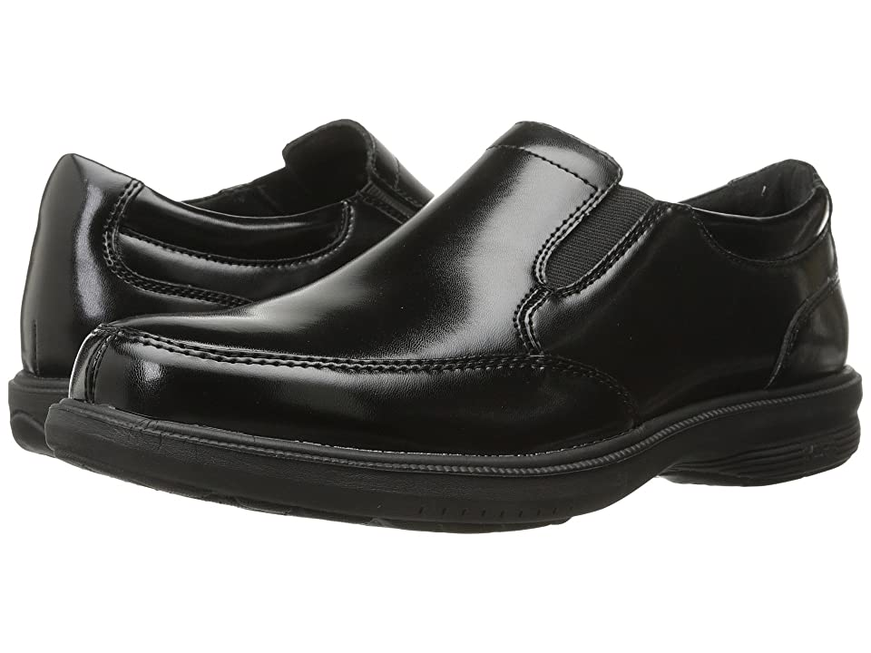 Nunn Bush Madison Street Moc Toe Slip-On (Black) Men