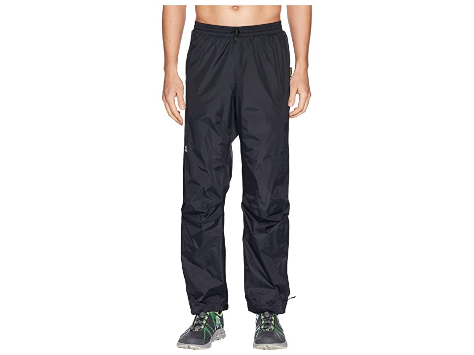 Jack Wolfskin Cloudburst Pants (Black) Men