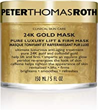 Peter Thomas Roth 24K Gold Mask Pure Luxury Lift & Firm, Anti-Aging Gold Face Mask, Helps Lift, Firm and Brighten the Look...