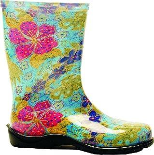 Sloggers Women's Rain & Garden Boots Midsummer Blue 6