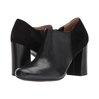 Naturalizer Rainy (Black Leather/Suede) Women