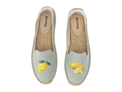 Soludos Lemon Platform (Chambray) Women