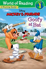 Mickey & Friends: Goofy at Bat: A Rhyming Reader (Level 1) (World of Reading (eBook)) Kindle Edition
