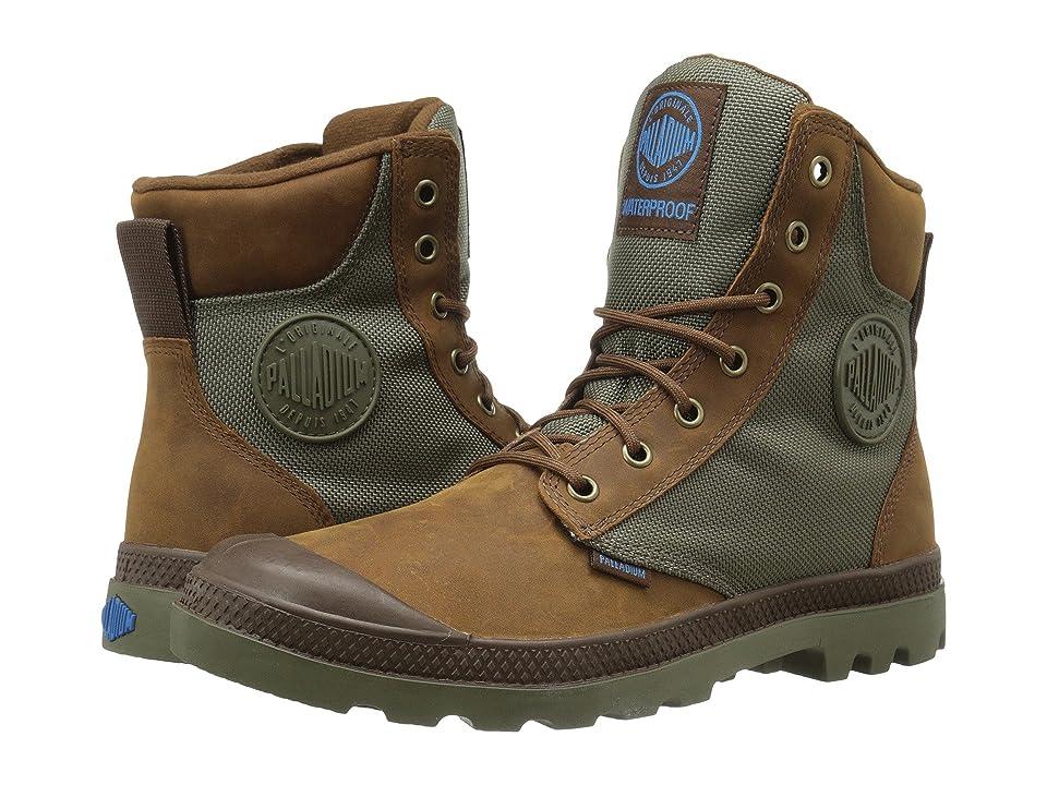 Palladium Pampa Sport Cuff WPN (Bridle Brown/Moon Mist) Boots