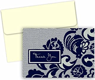 Great Papers! Lovely Lace Thank You Note Card and Envelope - 4.875