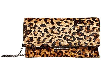 Loeffler Randall Tab Clutch (Leopard 2) Clutch Handbags