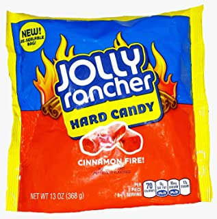 Jolly Rancher Cinnamon Fire! Hard Candy, 13-Ounce (Pack of 2)