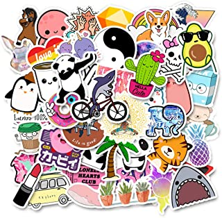 Meet Holiday Cute Vinyl Trendy Aesthetic Stickers for Girls, Kids, Teens Car Motorcycle Bicycle Luggage Decal Graffiti Patches Skateboard Stickers for Hydro Flask (Cute)