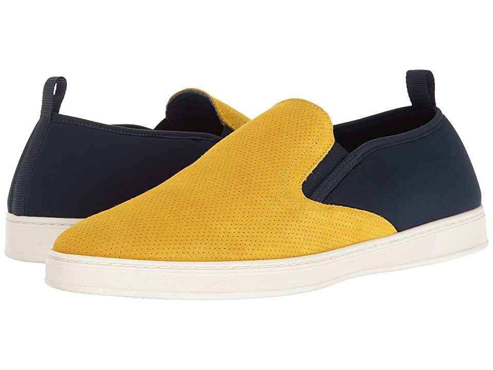 PARC City Boot Pier (Yellow Punched Suede/Navy) Men