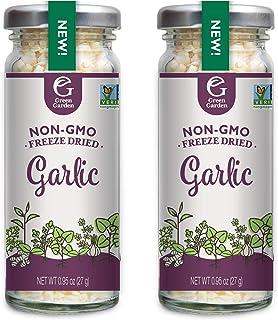 Green Garden Freeze-Dried Minced Garlic, 0.95 Ounces, 2-Pack
