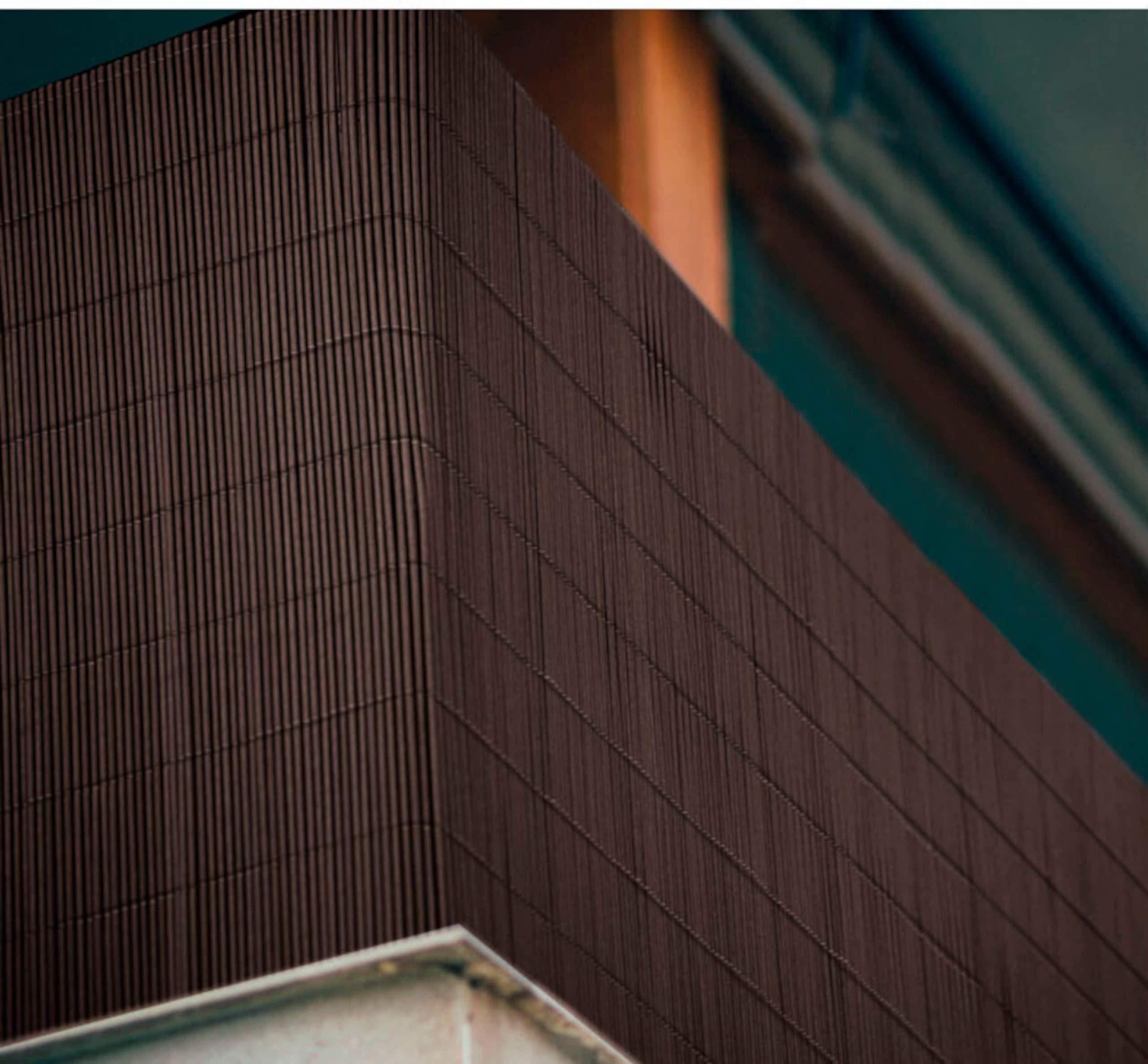 Comercial Candela CAÑIZO PVC Marron Ovalado 1X3 Metros: Amazon.es: Jardín