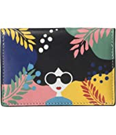 Alice + Olivia - Lexi Printed Envelope Card Case