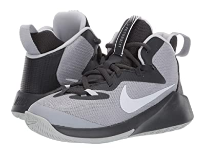 Nike Kids Future Court (Big Kid) (Wolf Grey/White/Anthracite/Pure Platinum) Boys Shoes