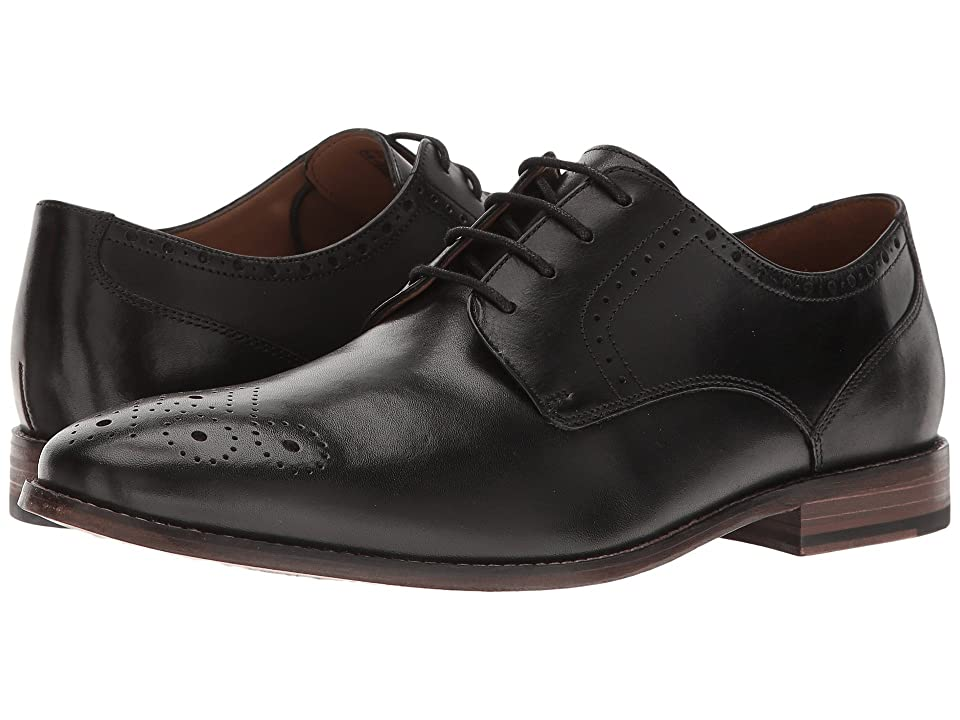Bostonian Ensboro Plain (Black Leather) Men