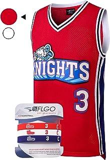 85d91bc1bbc AFLGO Calvin Cambridge  3 LA Knights Basketball Jersey S-XXXL – 90 s  Clothing Throwback