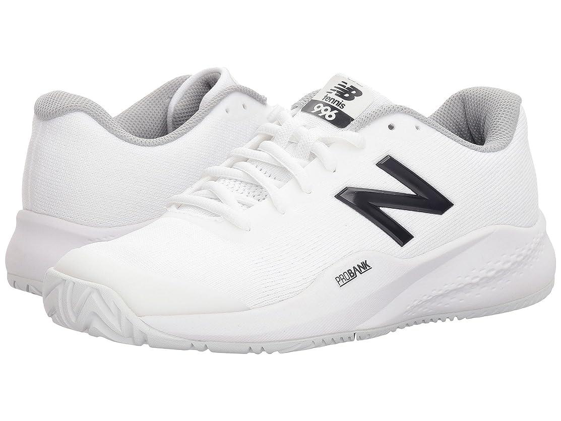 港そよ風補償(ニューバランス) New Balance レディーステニスシューズ?スニーカー?靴 996v3 White/White 12 (29cm) D - Wide