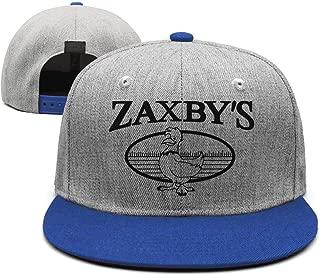 Cap Plain Visor Hats UONDLWHER Adjustable Unisex Zaxbys-Restaurant-Logo