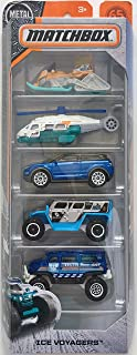 Matchbox 2018 Ice Voyagers 1:64 Scaled 5-Pack