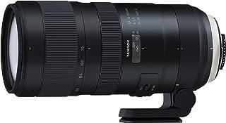 Tamron SP 70-200 mm F/2.8 Di VC USD G2 - Objetivo para Nikon (estabilizador óptico VC en Tres Modos Sensor Full Frame 24 x 36 AF USD Dos Lentes XLD SP) Negro