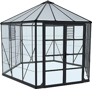 Palram HG6005 Oasis Greenhouse, Gray