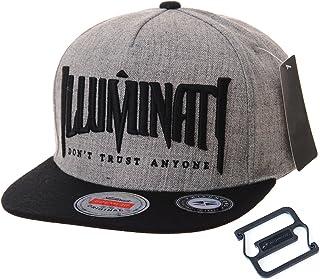 WITHMOONS Snapback Hat Illuminati Embroidery Hip Hop Baseball Cap AL2389