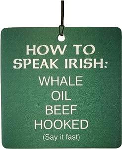 How Speak Irish Car Air Freshener