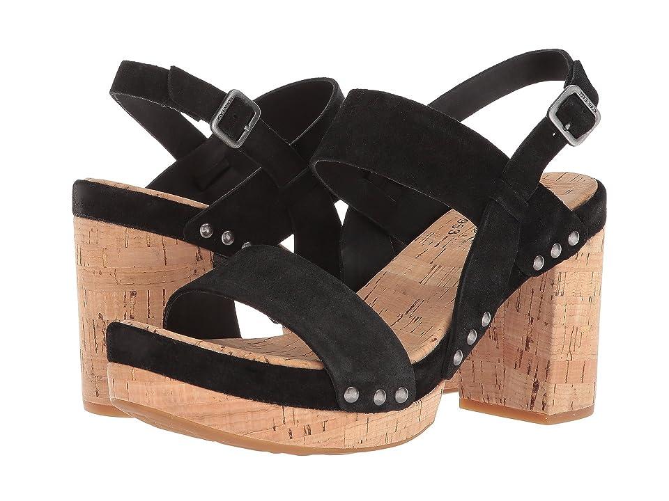 Kork-Ease Palmdale (Black Suede) High Heels