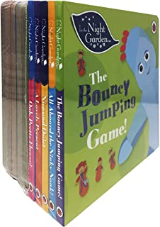 In The Night Garden 10 Story Books Collection Set for Childrens (Bouncy Jumping Game, Aboard the Ninky Nonk, Nice and Quie...