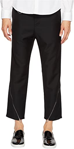 Oblique Zip Pants