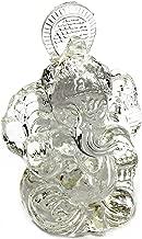 Bellaa 24764 Crystal Ganesha Statues Hindu Good Luck God 3.5