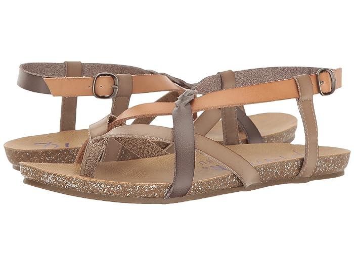 Blowfish  Granola-B (Birch/Nude/Grey Dyecut) Womens Sandals