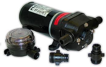 Flojet 04125502A Marine Freshwater General Purpose Pump (5-GPM, 12-Volt, 11-Amp)