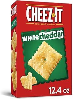 Cheez-It, White Cheddar Cheese Crackers, Bulk Size, 12.4 oz Box