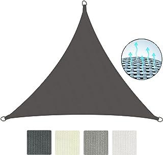Sol Royal SolVision HS9 Vela de Sombra Toldo Parasol 300x300x300 cm HDPE Transpirable Antracita protección UV