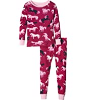 Hatley Kids - Fairy Tale Horses Pajama Set (Toddler/Little Kids/Big Kids)