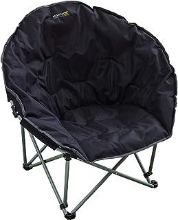 Regatta Navas Silla de Camping Negro Negro//Gris Talla:n//a